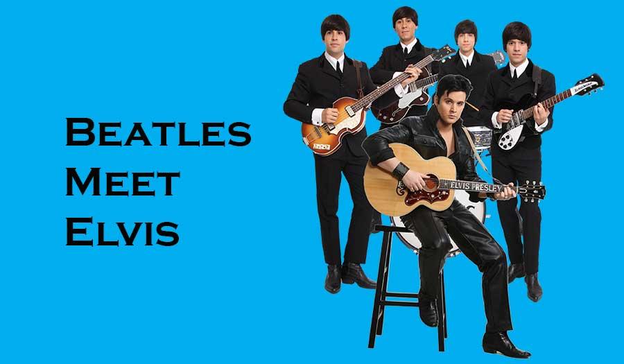 Get Back Entertainment Presents Beatles Meet Elvis — The Port